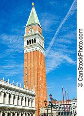 Saint Mark square in Venice Italy