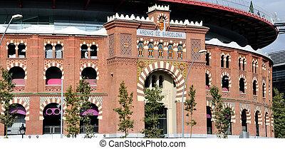 Bullring arena in Barcelona