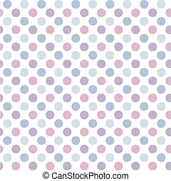 Polka dot - Abstract geometric retro seamless polka dot...