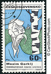 CZECHOSLOVAKIA - CIRCA 1968: A stamp printed in...