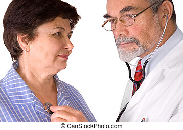 examined by a doctor