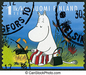 FINLAND - 2007: shows Moominmamma, Moomin characters -...