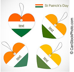 St. Patrick day tags
