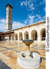 Great mosque of Aleppo, Syria