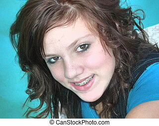 Very Cute Teen Girl - A picture of a very cute teen girl...