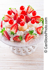 meringue-based dessert
