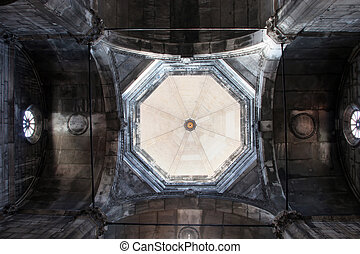Cathedral of St James in Sibenik - Interior of the Cathedral...