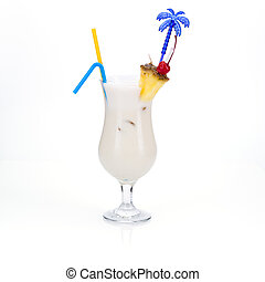 Pina Colada - Ingredients: Varadero rum, coconut liqueur,...