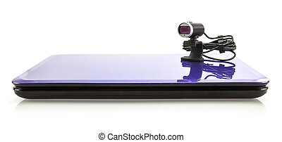 Laptop computer with HD webcam