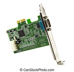PCI Card on a white background