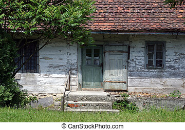 Old country house in central Europe -Croatia
