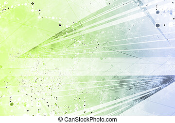 Generic Grunge Futuristic Abstract Background - Generic...