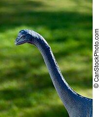 modelo, dinossauro
