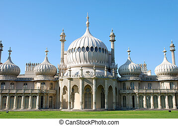 Brighton Pavilion - The famous pavilion in the seaside town...