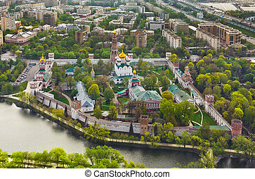 Novodevichiy monastery in Moscow, Russia