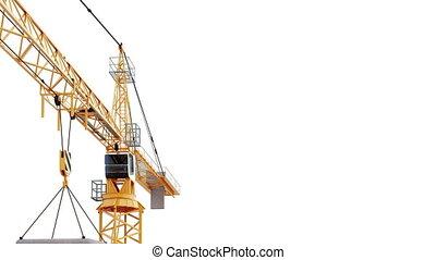 Under Construction - Crane - Construction Site