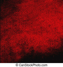 Highly detailed red grunge background or paper with vintage texture and space for your text, image or border frame