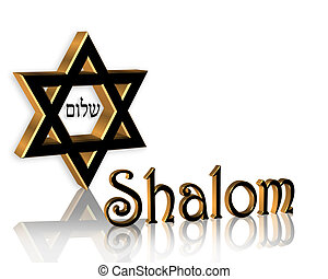 Hanukkah Shalom Jewish Background