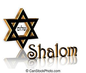 Hanukkah, SHALOM, Judeu, fundo