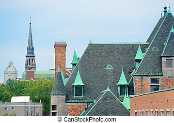 Montreal Historical buildings - Historical buildings on...