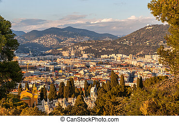 View of Nice - Cocirc;te dAzur - France - View of Nice -...