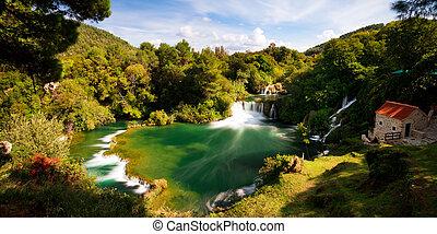 Krka fantasy landscape