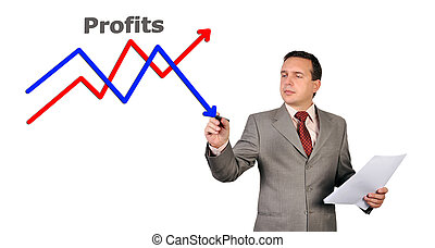 drawing business chart