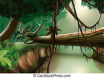 Jungle - background illustration