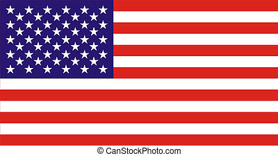 USA Flag - national flag of United States of America