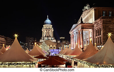 Christmas market Berlin - Christmas market in...