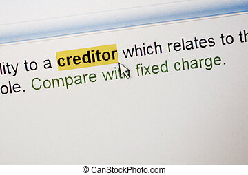 what to say to creditors when they call