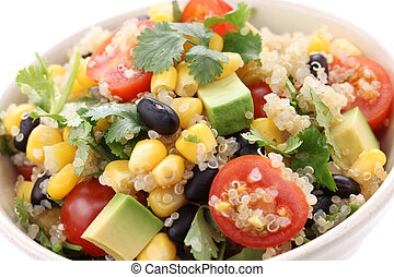 quinoa salad - vegetarian food