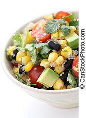quinoa salad - vegetarian food