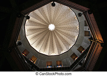 Basilica of the Annunciation - Dome of the Basilica of the...