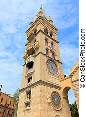 messina church clock tower - messina clock tower