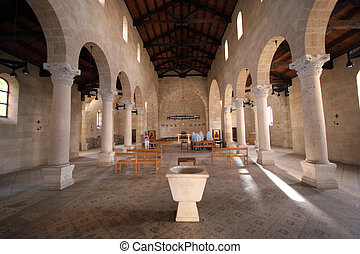Tabgha church - The Church of the Multiplication of the...
