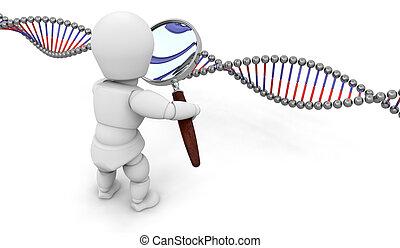 genético, investigación