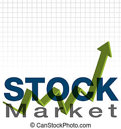 Stock Market - An image of a stock market background.