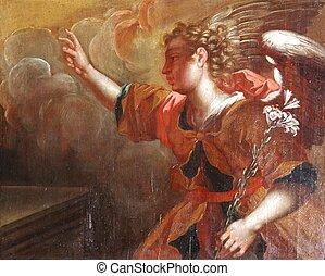 Archangel Gabriel, The Annunciation