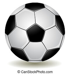 Detailed Soccer ball, football icon