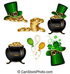St Patrick's Day - St. Patrick's day icons set