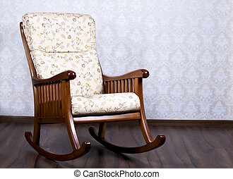 Rocking chair for the rest - modern rocking chair near a...