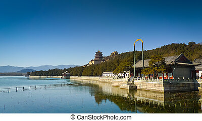 Summer Palace - Longevity Hill in the Summer Palace complex,...