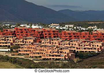 New Urbanisation at the Costa del Sol, Andalusia, Spain