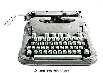 retro, Máquina escrever