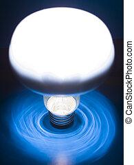 Bulb - A bulb on an background