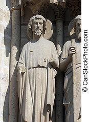 Saint Bartholomew, Notre Dame Cathedral, Paris, Last...