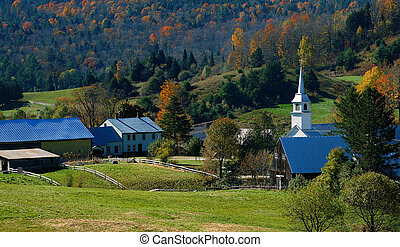 Autumn in Vermont - This is vermont famous town for new york...