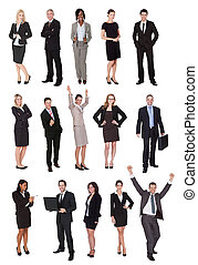 Business people, managers, executives