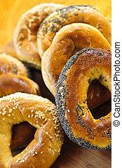 Fresh bagels